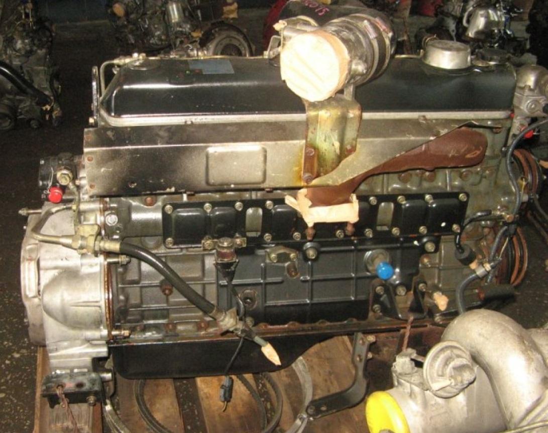двигатель на митсубиси фусо 6д16