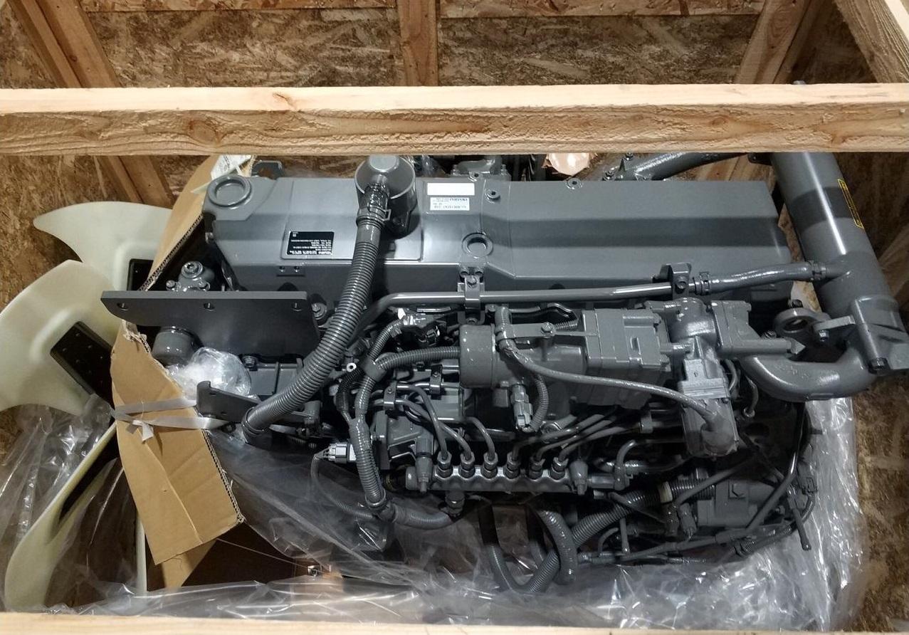 Двигатель погрузчика Хитачи