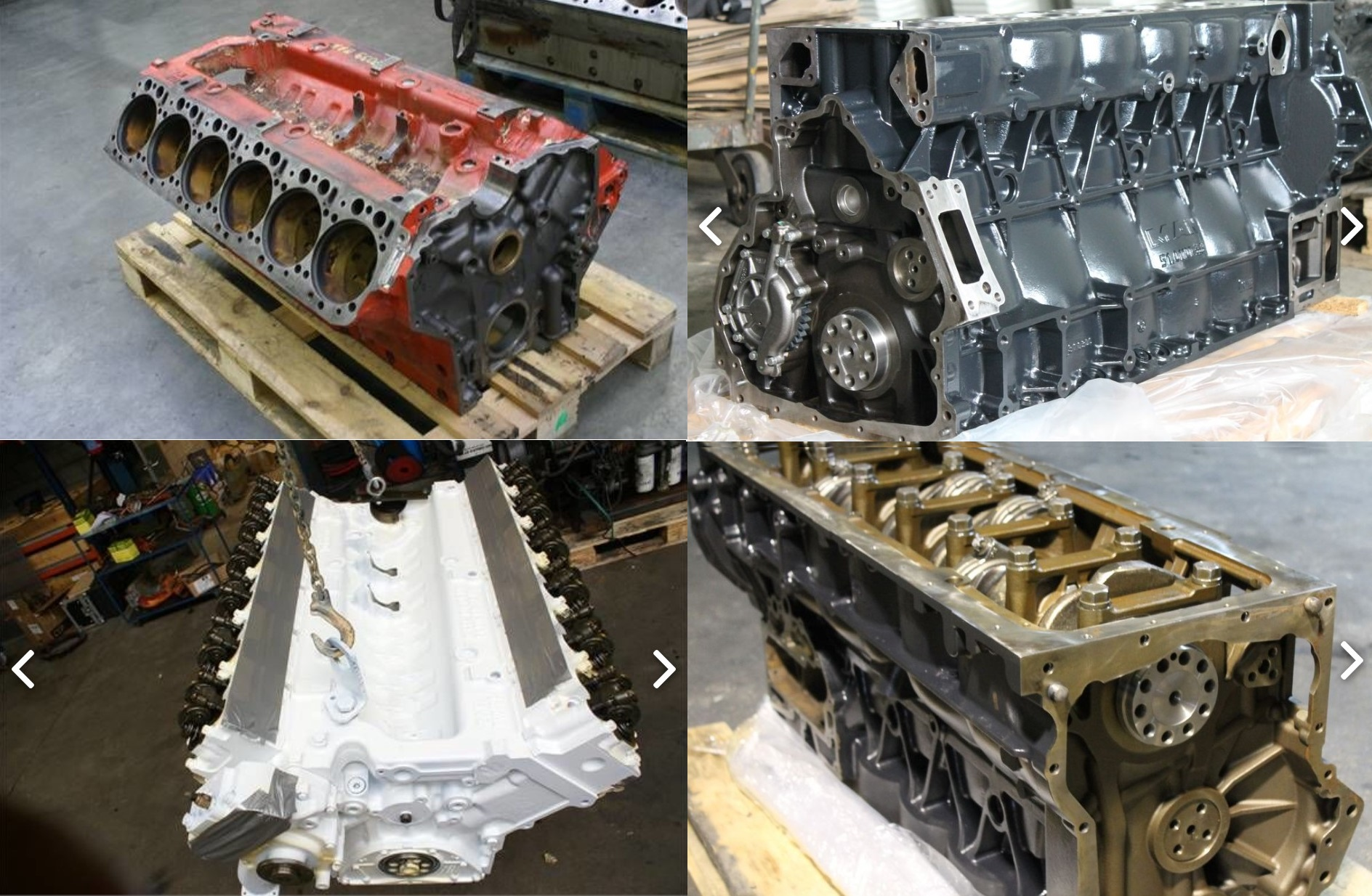 Блок двигателя МАН