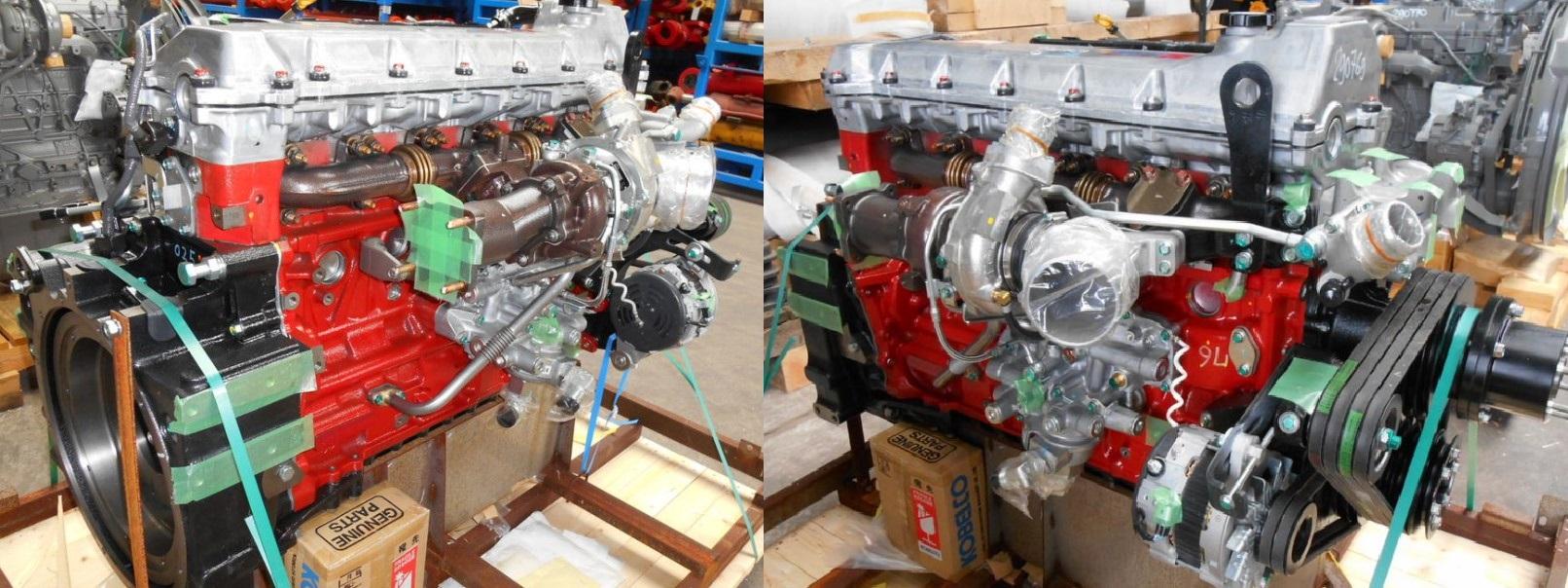 Двигатель Hino JO8E