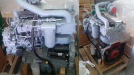 Новый двигатель Perkins 1104D-44T