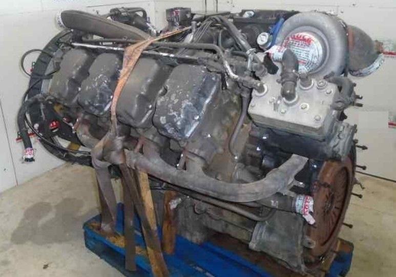 Двигатель DC16 02