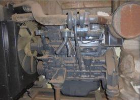 двигатель Isuzu для экскаватора KOBELCO