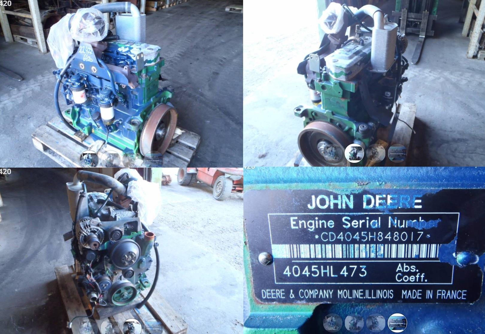 Двигатель 6420