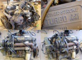 Двигатель FORD 7.3