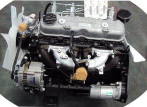 Isuzu C240 двигатель
