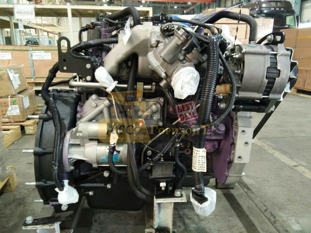 CA4DC2-12E3 двигатель